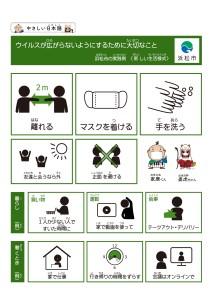 新しい生活様式日本語